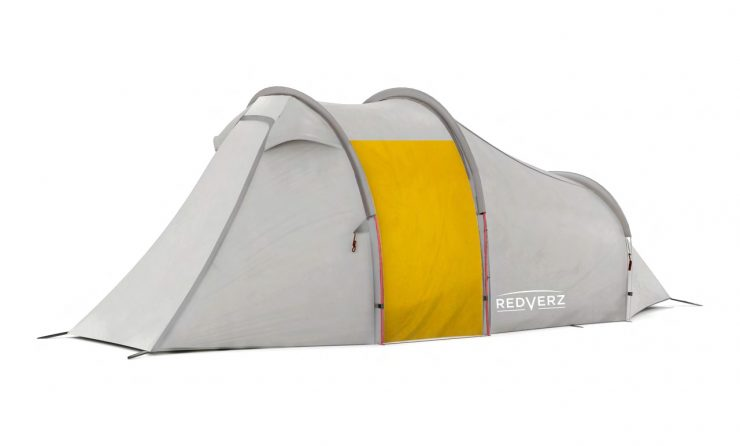 Redverz Atacama Expedition Motorcycle Tent 4