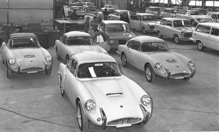 Sabra GT Coupe Autocars Co. Ltd