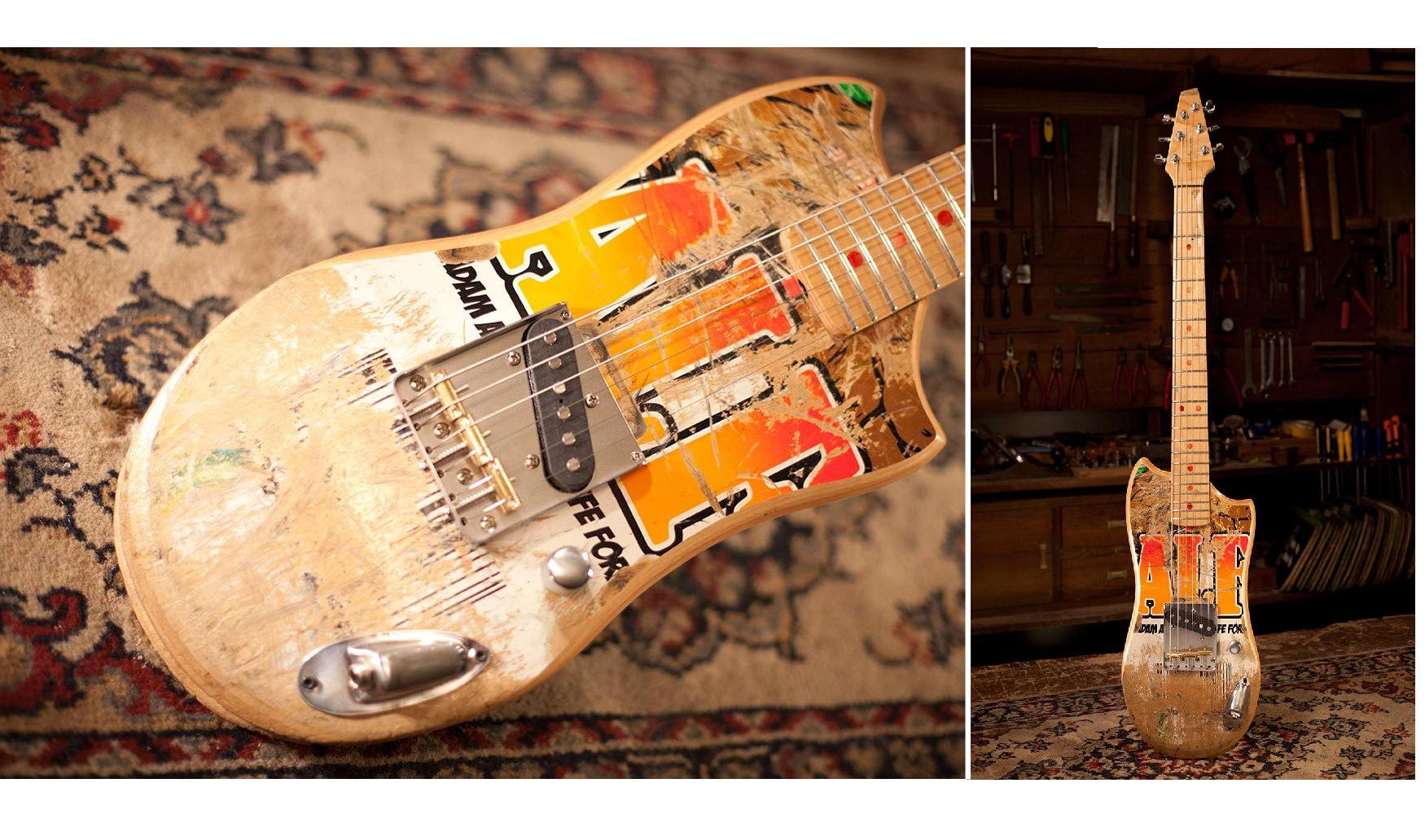 Skateguitar Skateboard Guitar