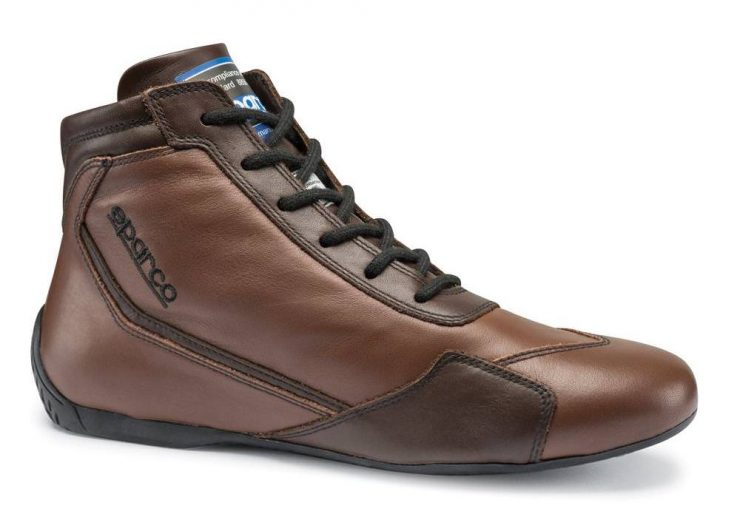 Sparco Slalom RB-3 Classic Racing Boots Brown