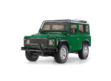Tamiya Land Rover Defender RC Model 450x330 - Tamiya Land Rover Defender 1:10 Scale R/C Model Kit