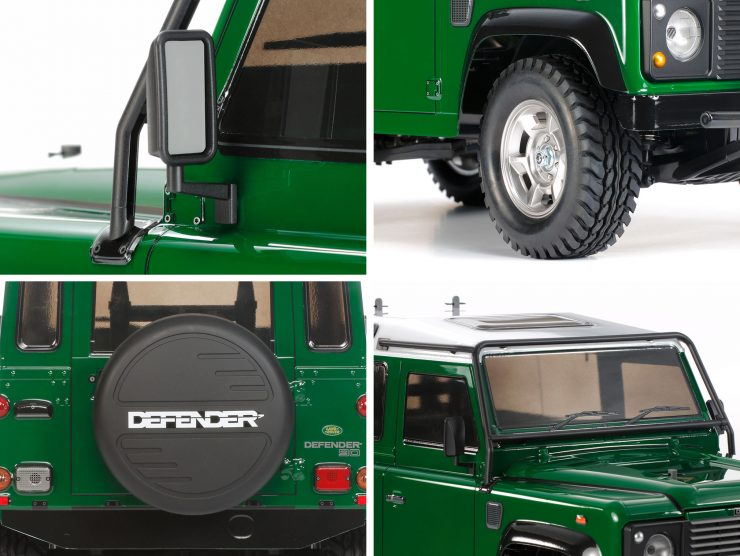 Tamiya Land Rover Defender RC Model Mirror