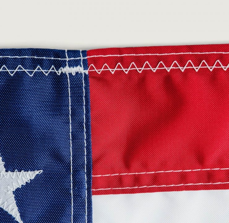 Texas Flag Stitching