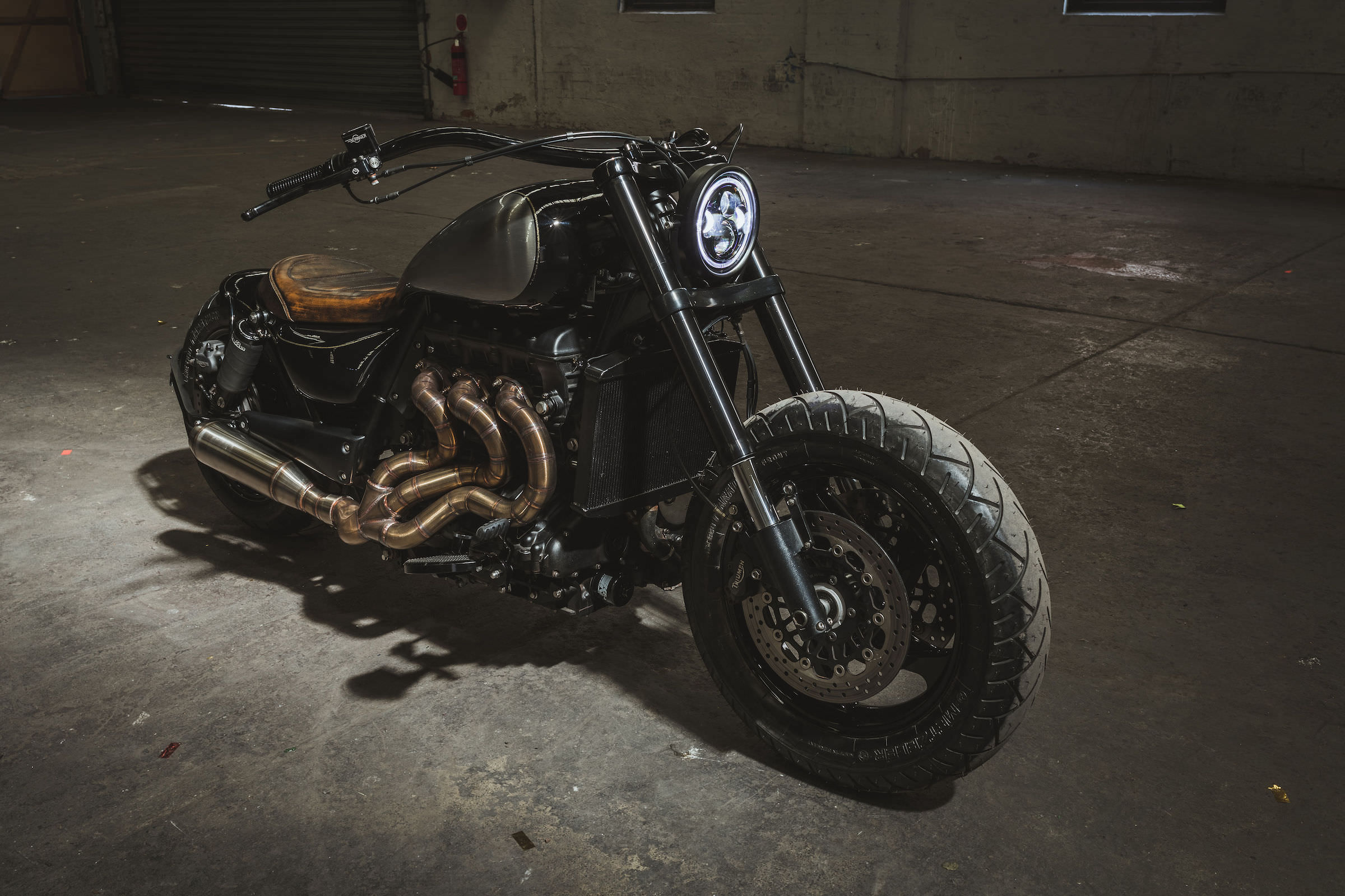Triumph Rocket Iii Custom By Gasoline Motor Co