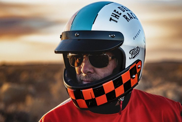 Veldt Desert Race x Fuel Motorcycles Limited Edition Helmet 3