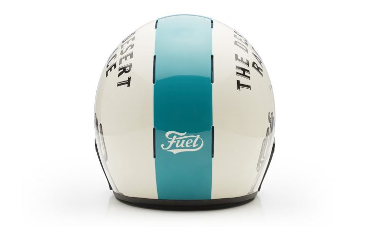 Veldt Desert Race x Fuel Motorcycles Limited Edition Helmet Back