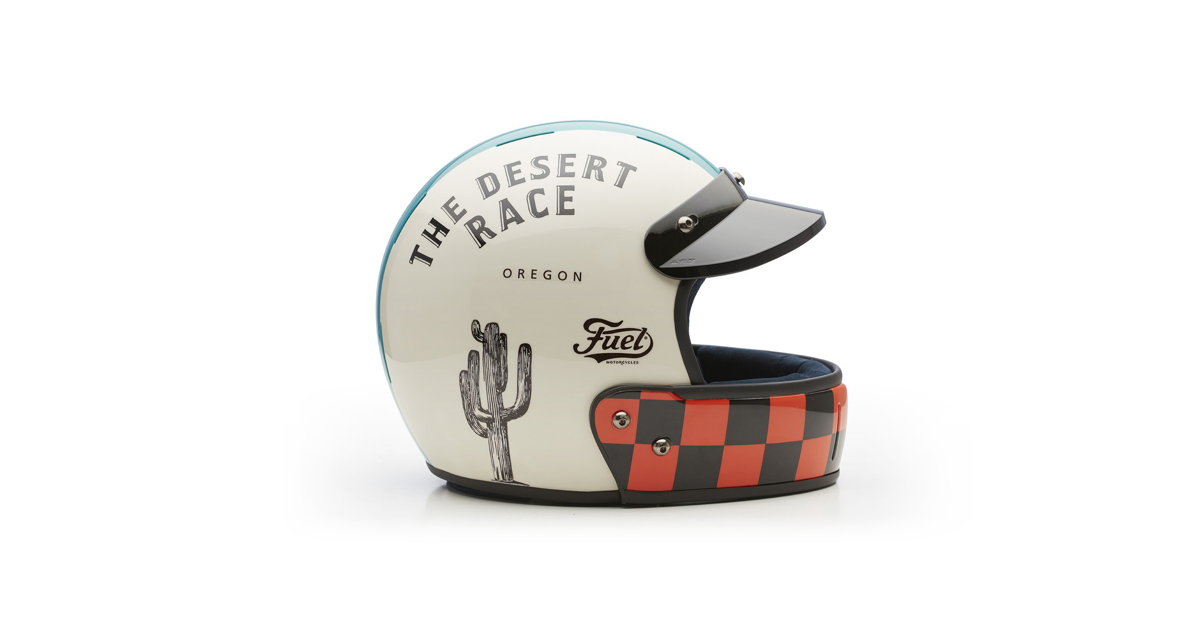 Veldt Desert Race x Fuel Motorcycles Limited Edition Helmet