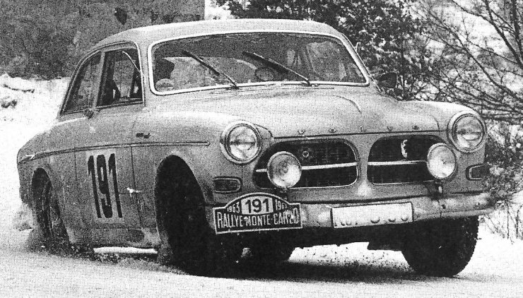 Volvo Amazon Monte Carlo Rally