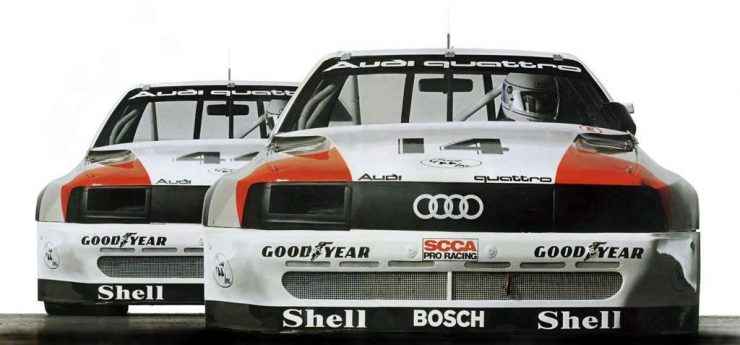 Walter Röhrl Audi 200 quattro 1