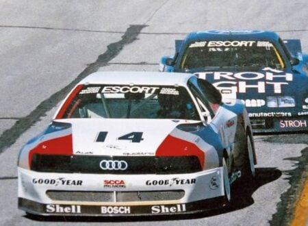 Walter Röhrl Audi 200 quattro