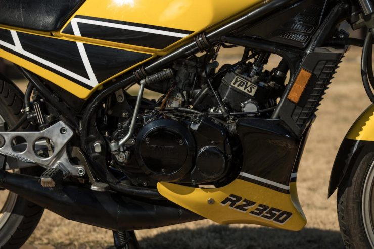 Yamaha RZ350 Kenny Roberts Edition Engine