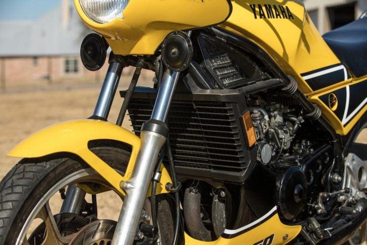Yamaha RZ350 Kenny Roberts Edition Radiator