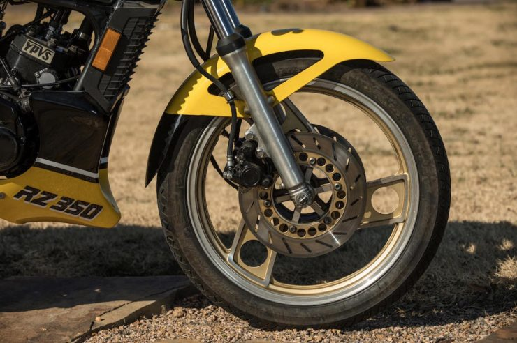 Yamaha RZ350 Kenny Roberts Edition Wheel