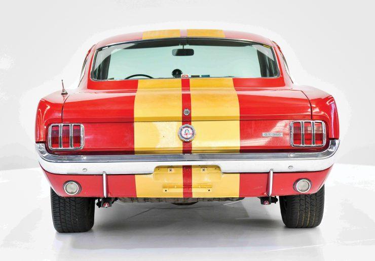 1966 Shelby GT350 H Back