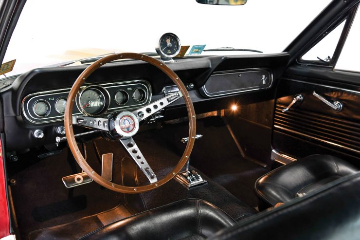 1966 Shelby GT350 H Interior