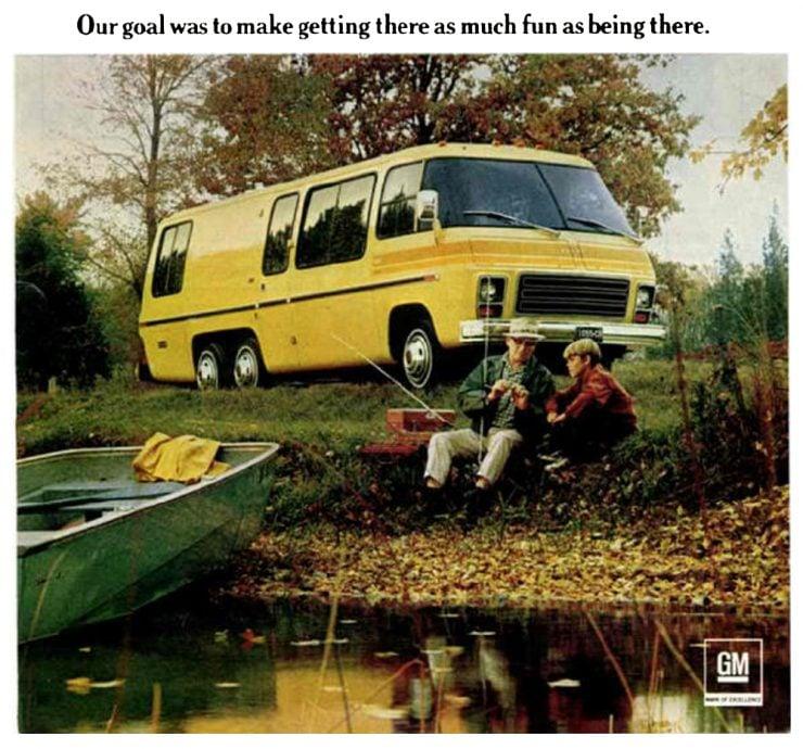 GMC Motorhome advertisement