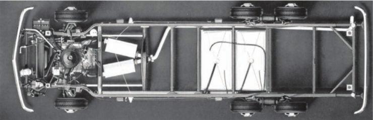 GMC Motorhome chassis