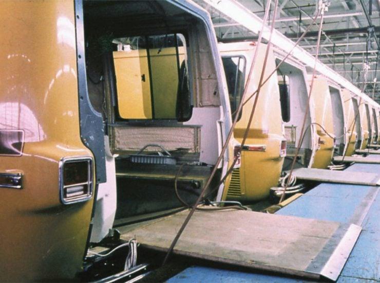 GMC motorhome factory fitting