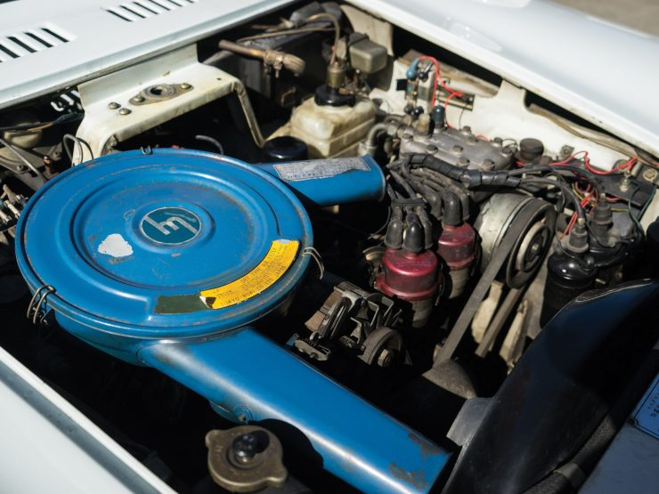 Mazda Cosmo Series II Wankel sports car engine