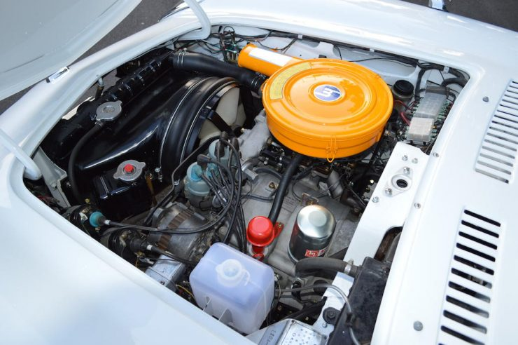 Mazda Cosmo Series I Wankel sports car engine