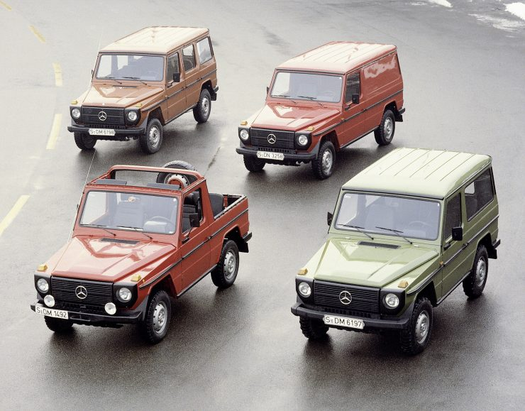 Mercedes-Benz G-Wagen 460 body styles