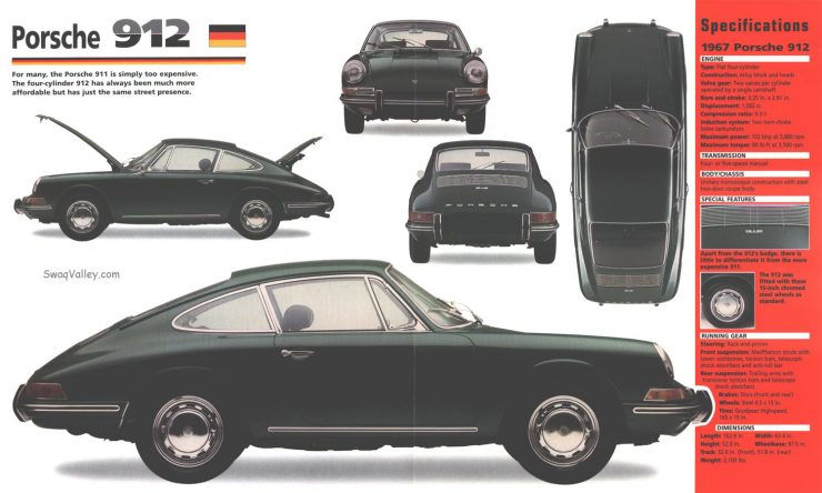 Porsche 912 advertisement