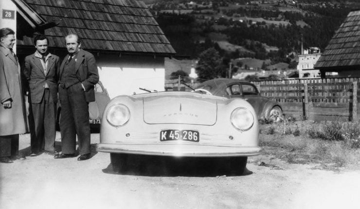 Erwin Komenda Ferry Porsche Dr. Ferdinand Porsche