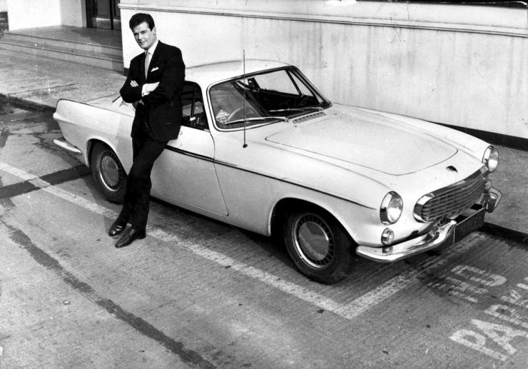 Volvo P1800 the Saint Simon Templar Roger Moore