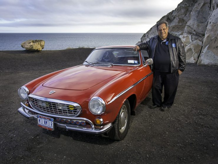 Irv Gordon Volvo P1800 million mile car