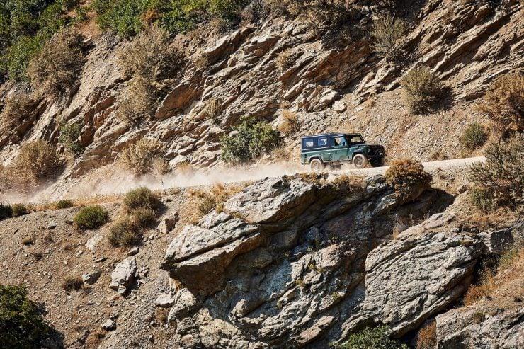 Anvil Land Rover Defender 7