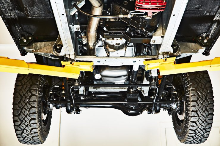 Anvil Land Rover Defender Chassis