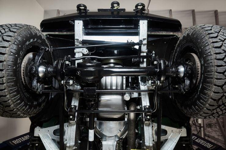Anvil Land Rover Defender Engine Underside