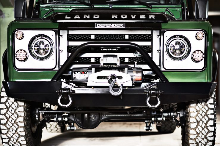 Anvil Land Rover Defender Front Grille