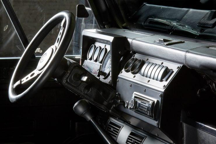 Anvil Land Rover Defender Interior