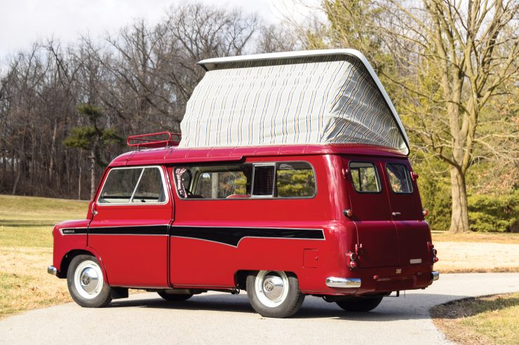 Bedford CA Dormobile Camper Back