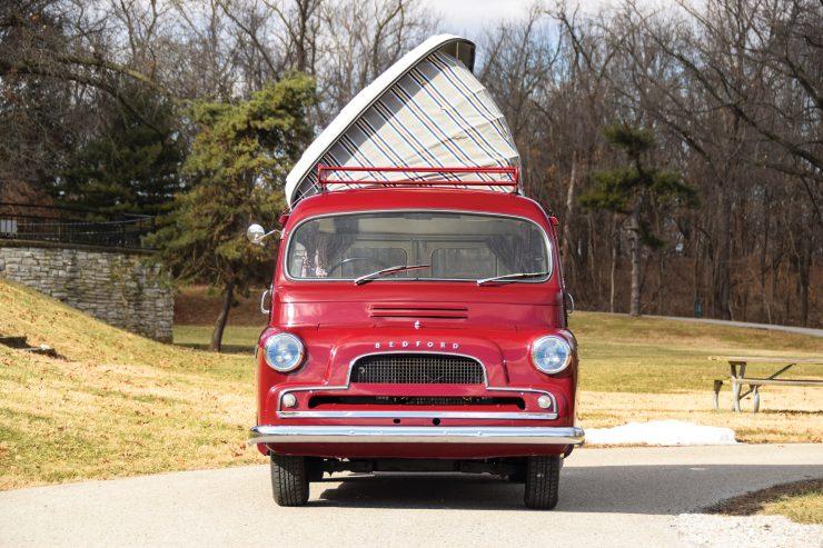 Bedford CA Dormobile Camper Front 1