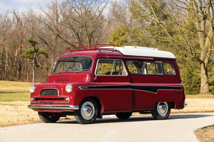 Bedford CA Dormobile Camper Front