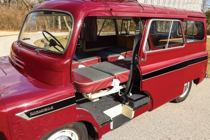 Bedford CA Dormobile Camper Interior 1