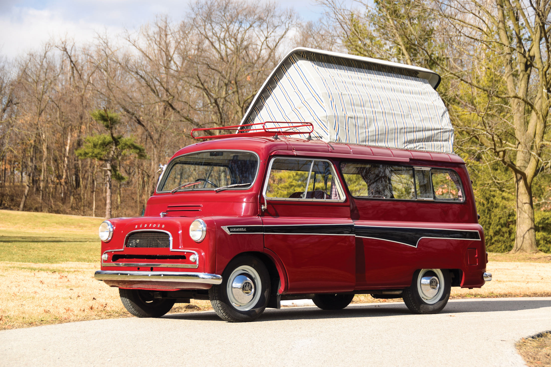 Bedford CA Dormobile Camper Main