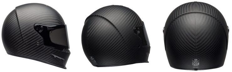 Bell Eliminator Carbon Helmet Collage
