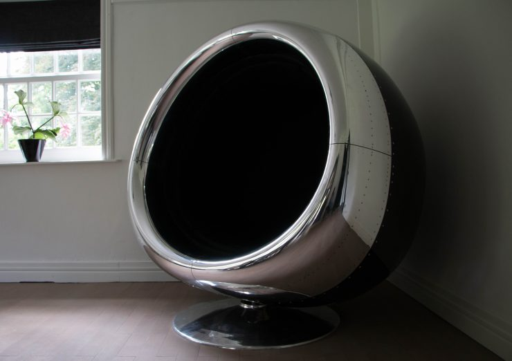 Boeing 737 Jet Engine Cowling Chair 1