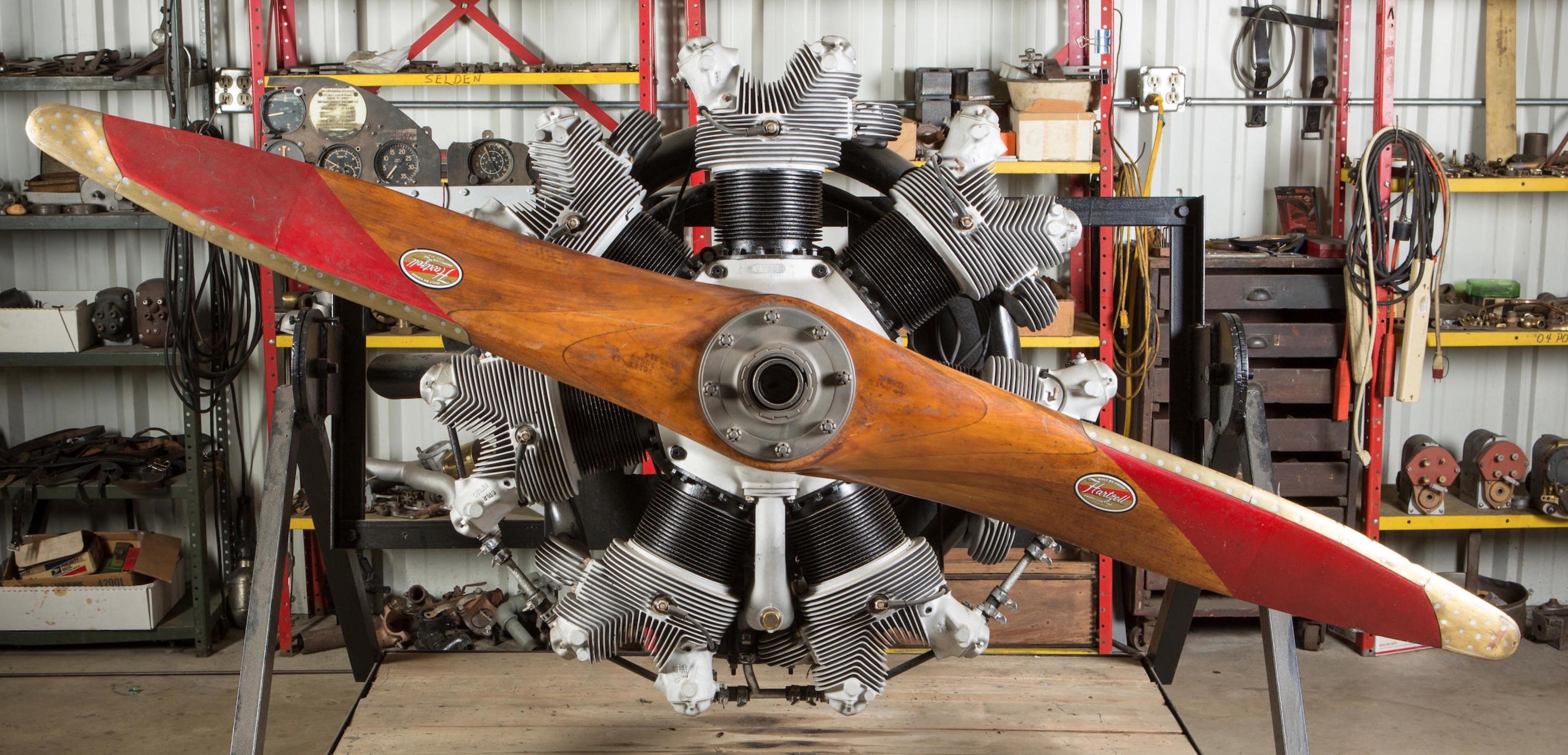 Continental R-670 7-Cylinder Radial Engine