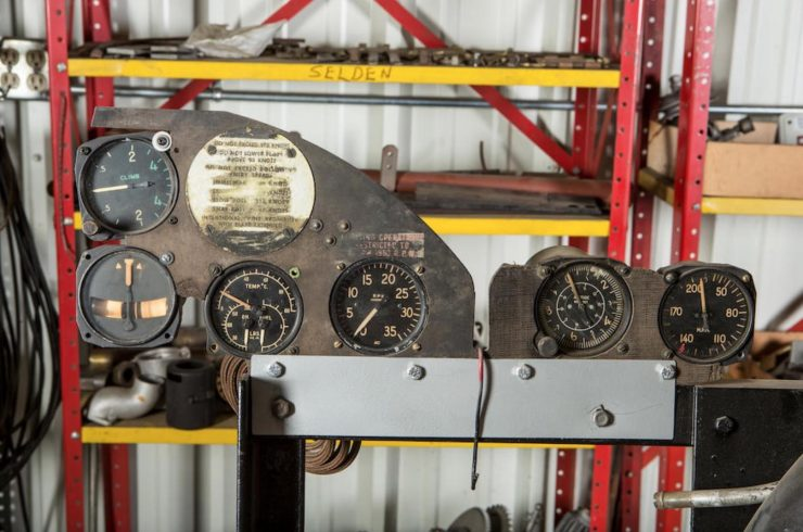 Continental R-670 Engine Gauges