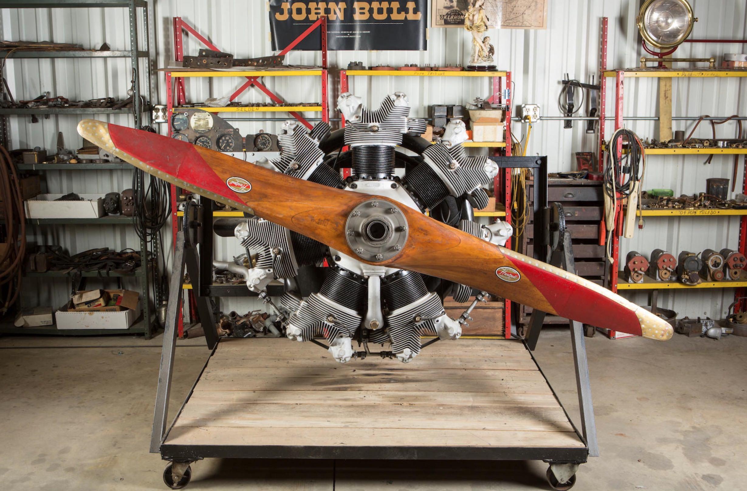 Continental R-670 Radial Engine