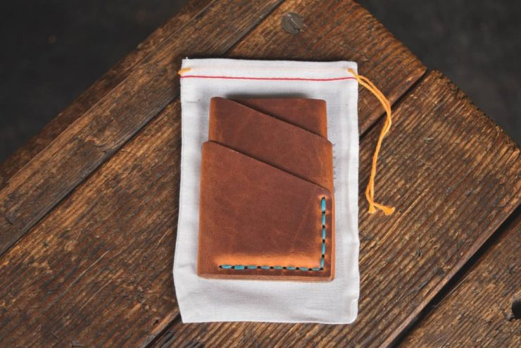 Craft & Lore Port Wallet – Horween Chromexcel Leather 1 2