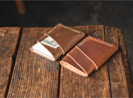 Craft & Lore Port Wallet – Horween Chromexcel Leather Main