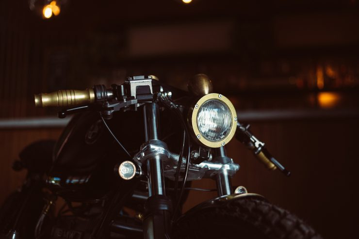 Custom BMW R100 Headlight