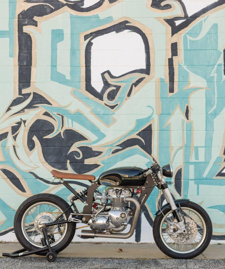 Custom Triumph Motorcycle 1