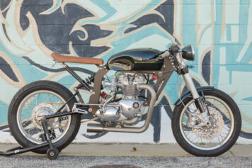 Custom Triumph Motorcycle 2