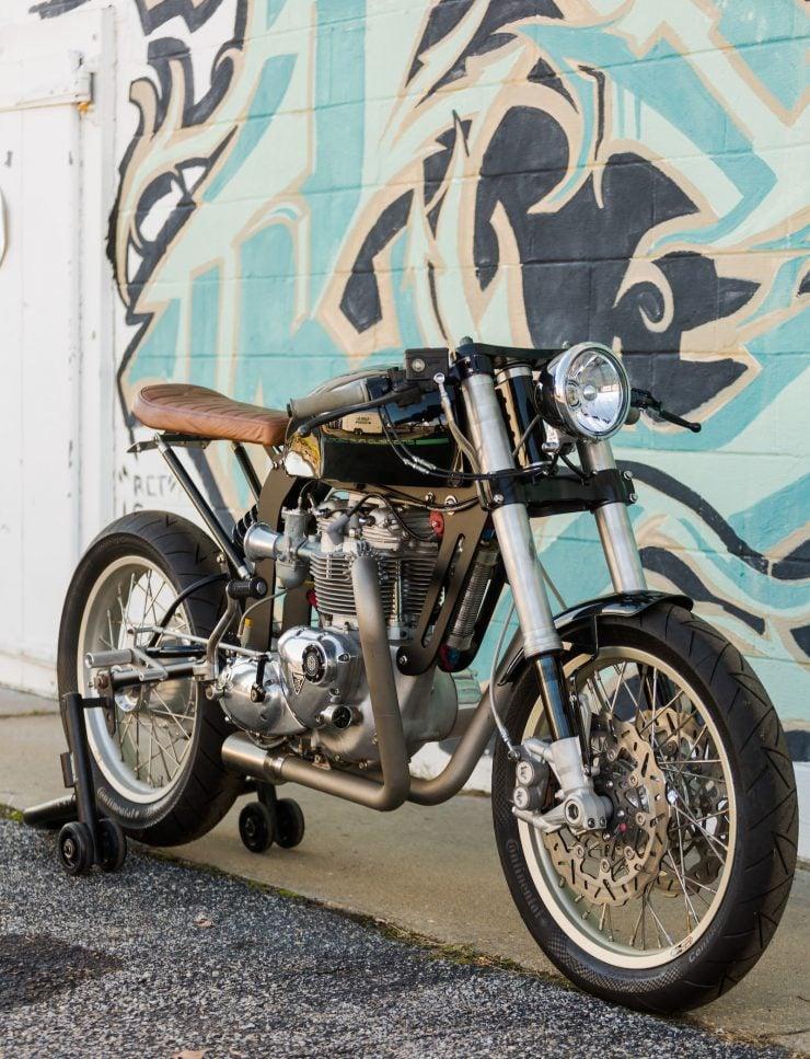 Custom Triumph Motorcycle 5